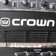 CROWN 460 CSL típusú (Made in USA)  stereo végfok