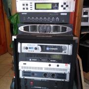 KLARKTEKNIK SQUARE, ARMY BEAT, BEHRINGER, és ELECTRO VOICE Q 1212, DEFINITIVE AUDIO WARRIOR végfokok